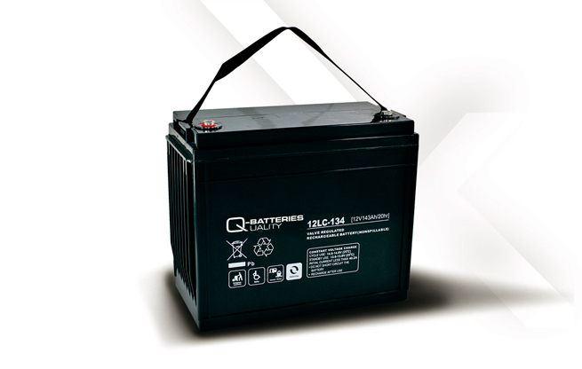 Imagen de Batería Q-BATTERIES 12LC-134 AGM Ciclica