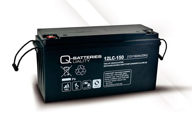 Imagen de Batería Q-BATTERIES 12LC-150 AGM Ciclica
