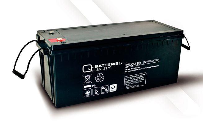 Imagen de Batería Q-BATTERIES 12LC-180 AGM Ciclica