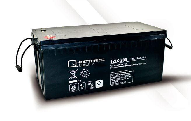 Imagen de Batería Q-BATTERIES 12LC-200 AGM Ciclica