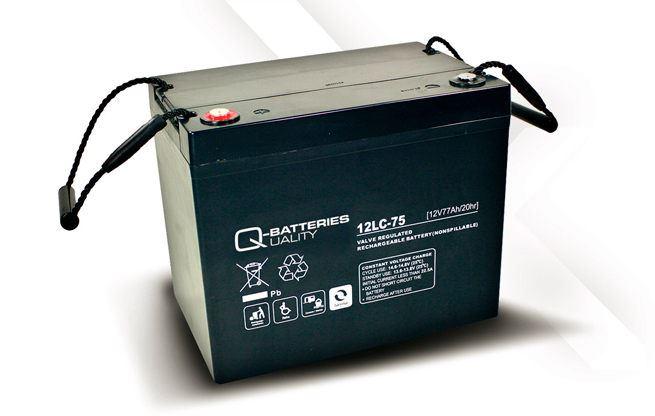 Imagen de Batería Q-BATTERIES 12LC-75 AGM Ciclica