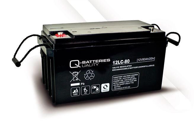 Imagen de Batería Q-BATTERIES 12LC-80 AGM Ciclica