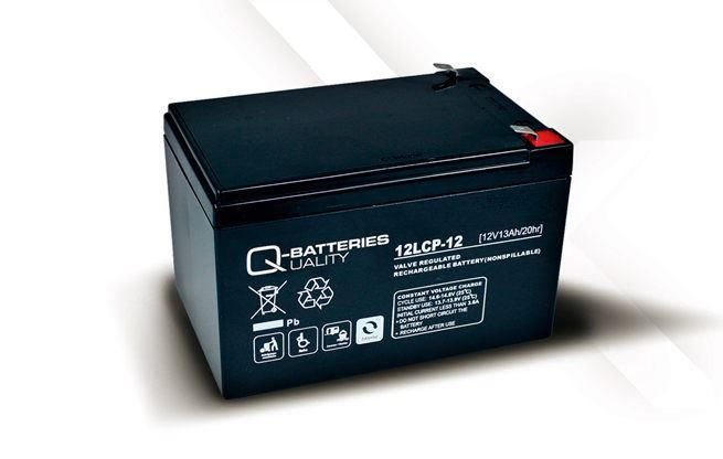 Imagen de Batería Q-BATTERIES 12LCP-12 AGM Ciclica