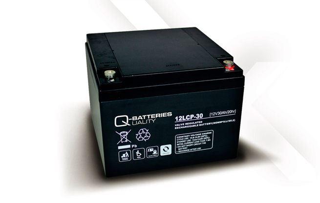 Imagen de Batería Q-BATTERIES 12LCP-30 AGM Ciclica