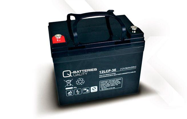 Imagen de Batería Q-BATTERIES 12LCP-36 AGM Ciclica