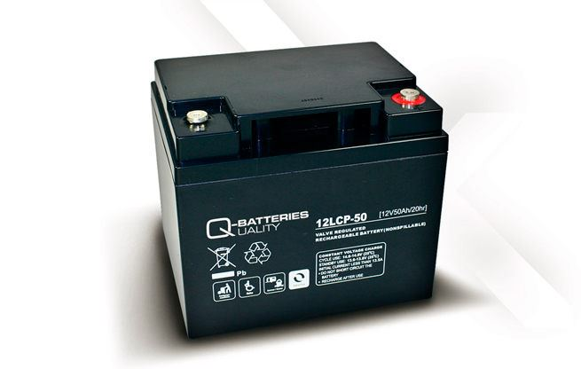 Imagen de Batería Q-BATTERIES 12LCP-50 AGM Ciclica