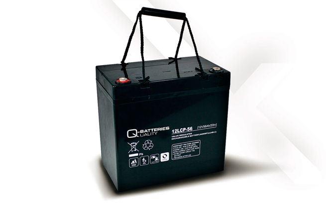 Imagen de Batería Q-BATTERIES 12LCP-56 AGM Ciclica