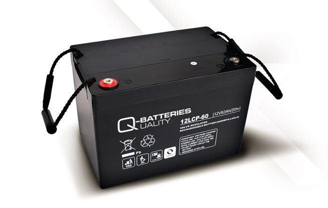 Imagen de Batería Q-BATTERIES 12LCP-60 AGM Ciclica