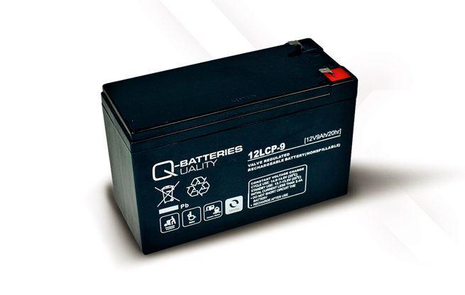 Imagen de Batería Q-BATTERIES 12LCP-9 AGM Ciclica