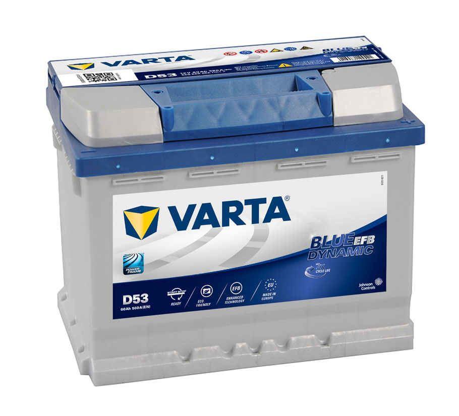 Imagen de BATERÍA VARTA D53 BLUE DYNAMIC EFB