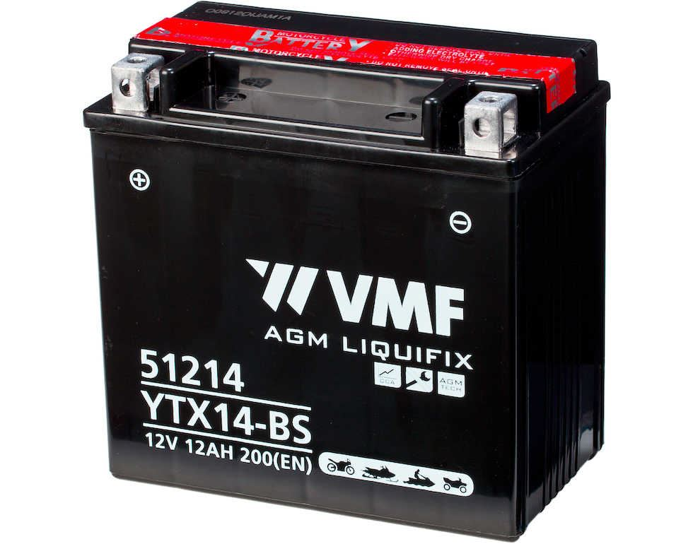 Imagen de Bateria VMF YTX14-BS Powersport AGM