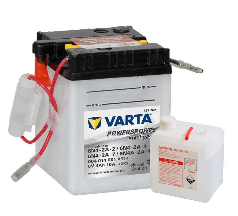 Imagen de VARTA Freshpack 6N4-2A-2/6N4-2A-4/6N4-2A-7/6N4A-2A-4