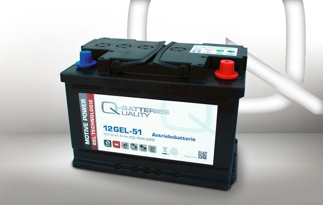 Imagen de Batería Q-BATTERIES 12GEL-51 GEL Monoblock