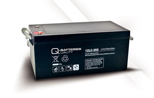 Imagen de Batería Q-BATTERIES 12LC-260 AGM Ciclica