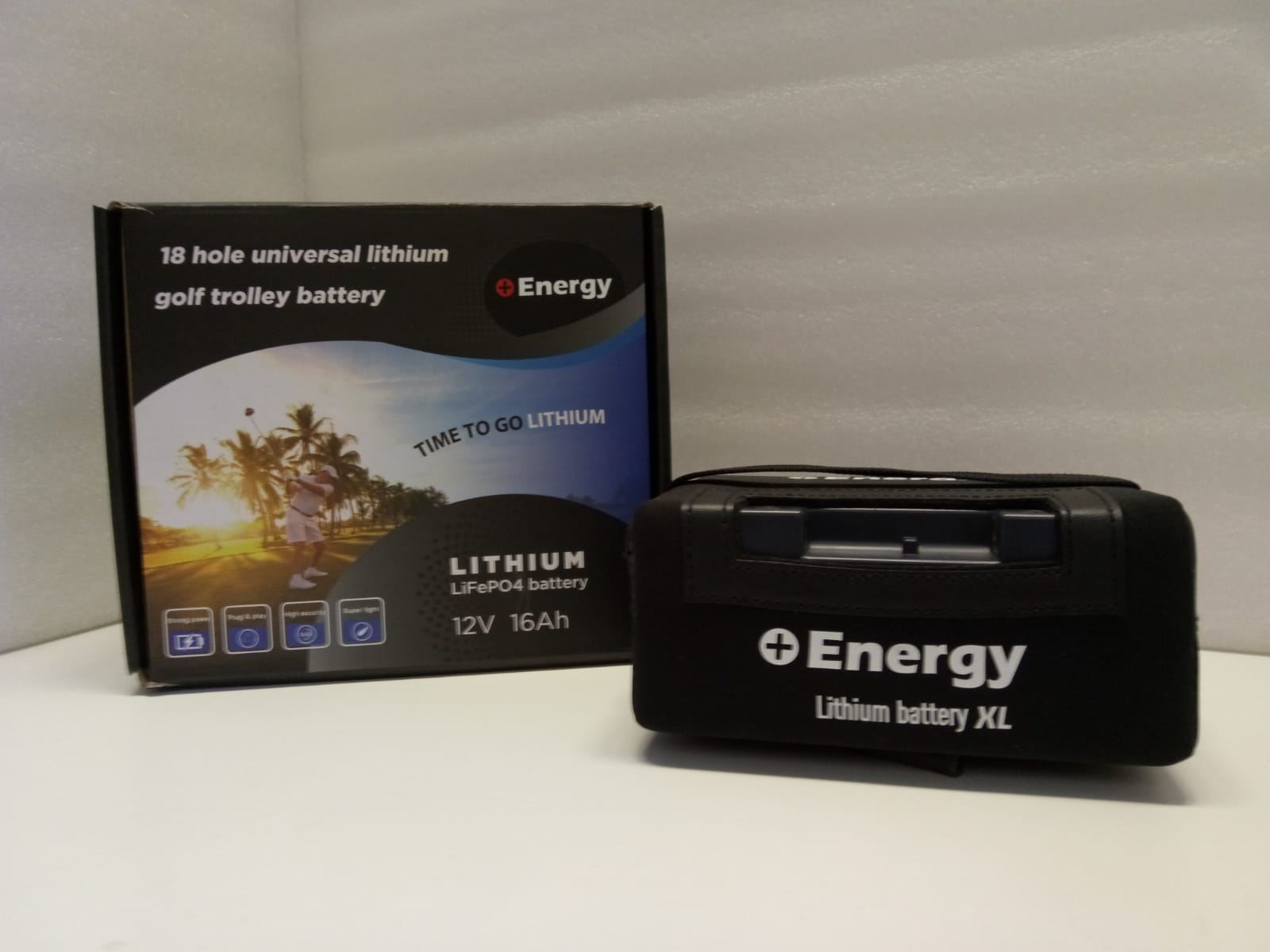 Imagen de Batería ENERGY Litio 16Ah 12V Carro de Golf