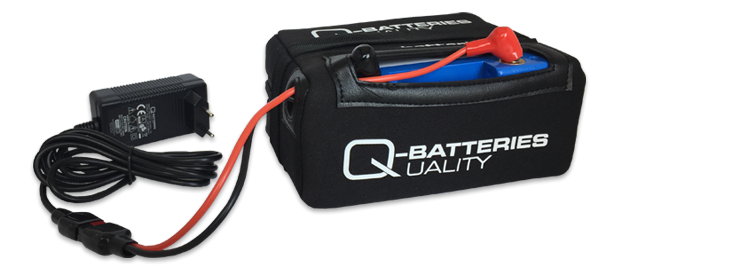 Imagen de Batería Q-BATTERIES Litio 12V 18Ah LiFePo4