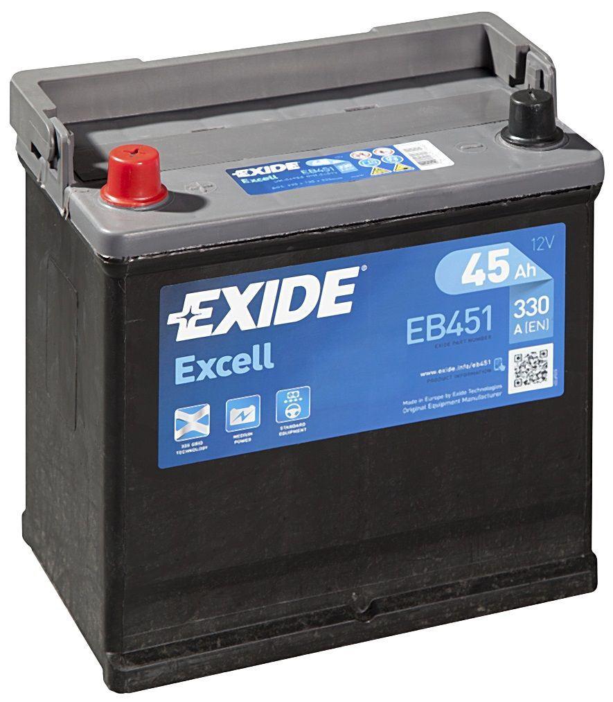Imagen de Batería EXIDE EB451 (equivale a TUDOR TB451) Excell
