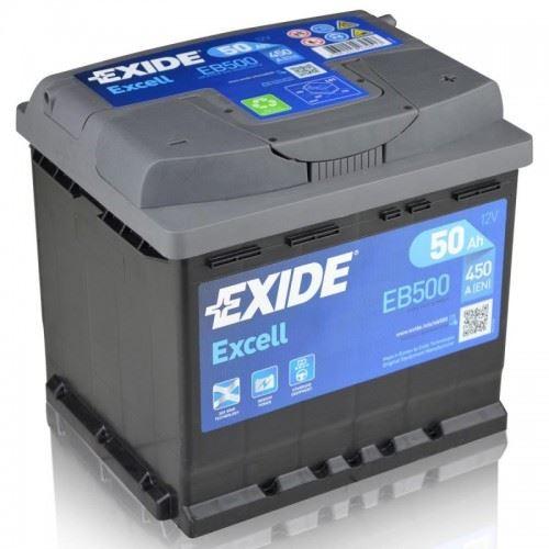 Imagen de Batería EXIDE EB500 (equivale a TUDOR TB500) Excell