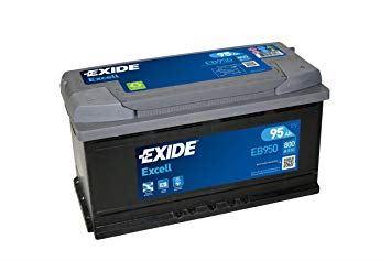 Imagen de Batería EXIDE EB950 (equivale a TUDOR TB950) Excell