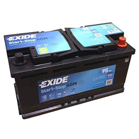Imagen de Batería EXIDE EK950 Start-Stop AGM (equivale a TUDOR TK950)