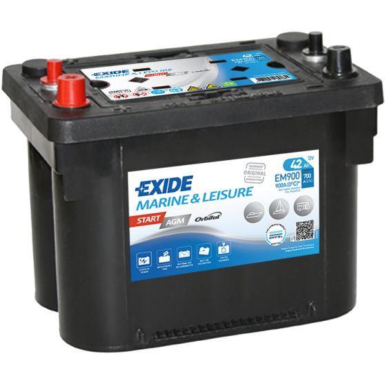 Imagen de Batería EXIDE EM900 Marine & Leisure Start AGM