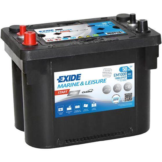 Imagen de Batería EXIDE EM1000 Marine & Leisure Start AGM