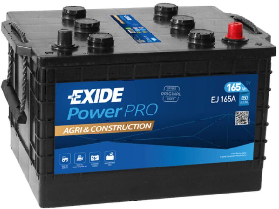 Imagen de Batería EXIDE EJ165A (equivale a TUDOR TJ165A) Start PRO