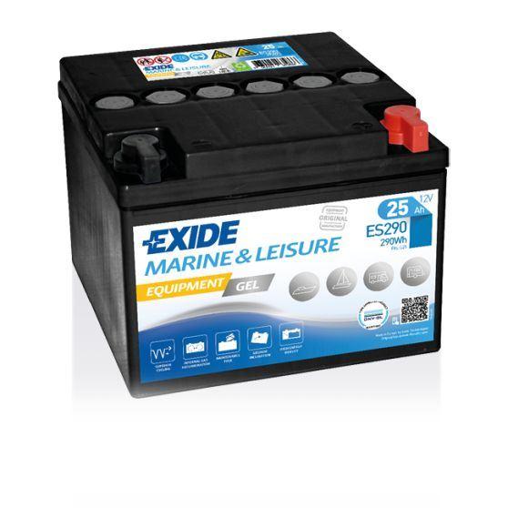 Imagen de Batería EXIDE ES290 Marine & Leisure Equipment Gel