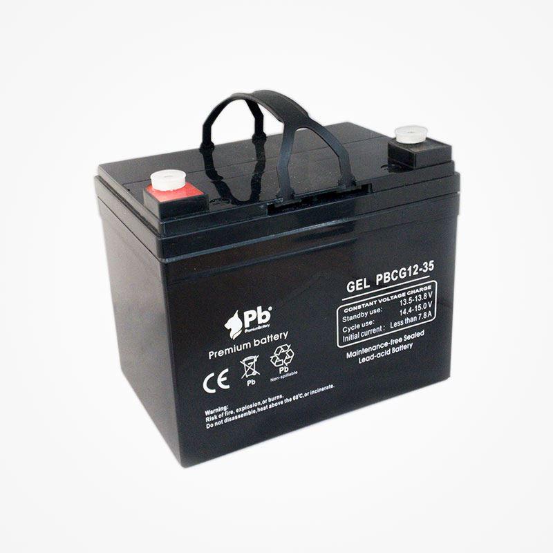 Imagen de PB Premium Battery GEL Ciclo profundo PBCG12-35