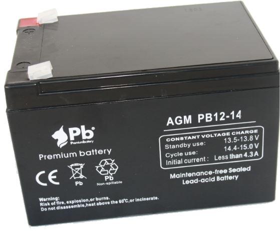 Imagen de PB Premium Battery AGM Ciclica PBC12-14
