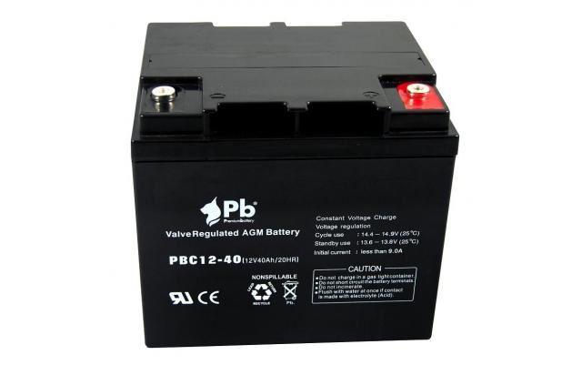 Imagen de PB Premium Battery AGM Ciclica PBC12-40