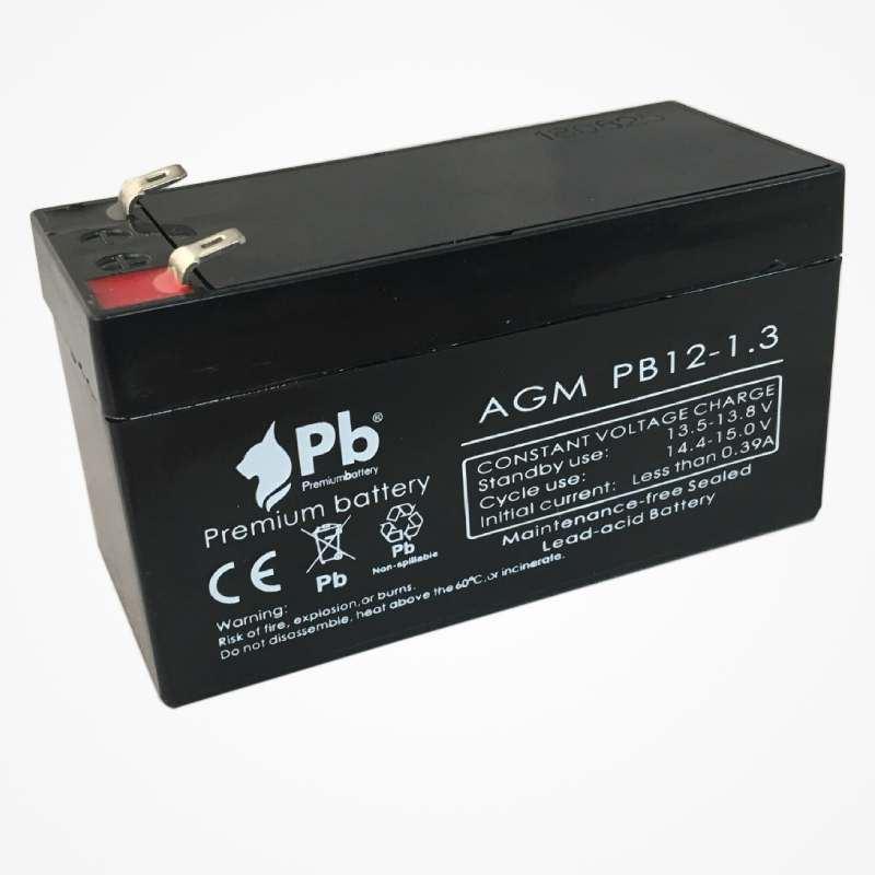 Imagen de PB Premium Battery AGM PB12-1,3