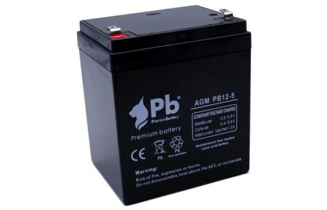 Imagen de PB Premium Battery AGM PB12-5