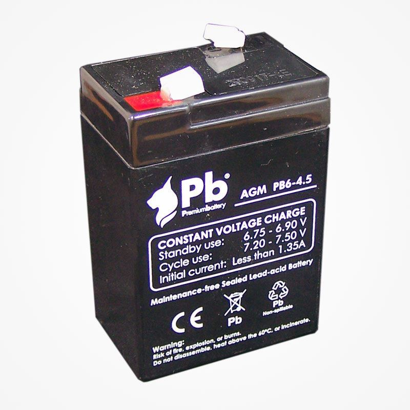 Imagen de PB Premium Battery AGM PB6-4,5