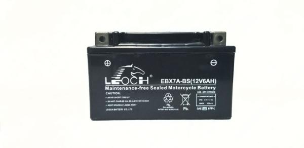 Imagen de Bateria LEOCH EBX7A-BS Motorrad AGM