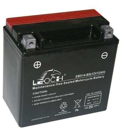 Imagen de Bateria LEOCH EBX14-BS Motorrad AGM