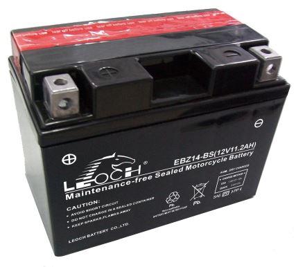 Imagen de Bateria LEOCH EBZ14-BS Motorrad AGM