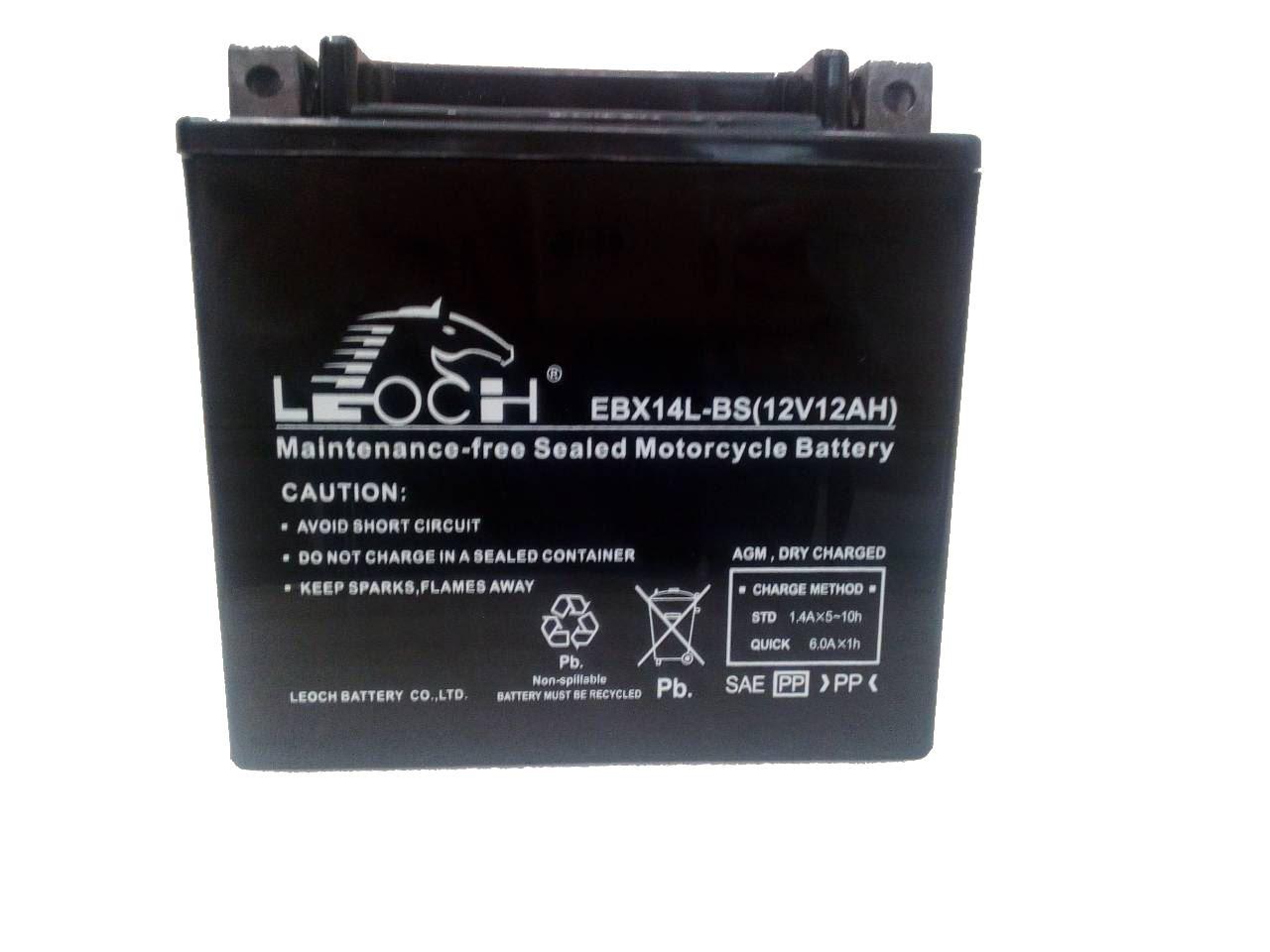Imagen de Bateria LEOCH EBX14L-BS Motorrad AGM