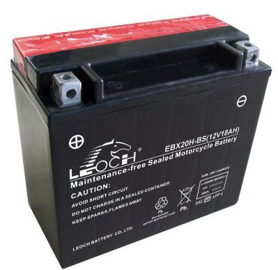 Imagen de Bateria LEOCH EBX20H-BS Motorrad AGM
