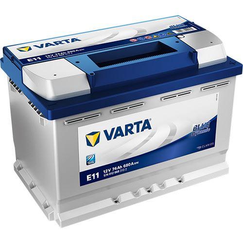 Imagen de BATERÍA VARTA E11 BLUE DYNAMIC