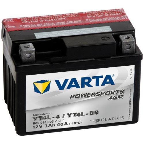 Imagen de VARTA Powersports AGM YT4L-BS