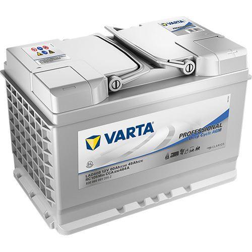 Imagen de BATERIA VARTA LAD60B PROFESSIONAL AGM DEEP CYCLE