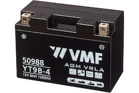 Imagen de Batería VMF YT9B-BS Powersport AGM