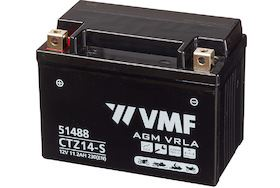 Imagen de Batería VMF YTZ14-S Powersport AGM