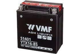 Imagen de Bateria VMF YTX16-BS Powersport AGM