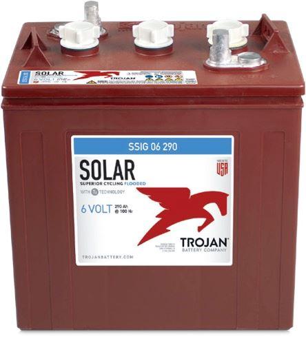 Imagen de Batería TROJAN SSIG 06 290 Deep Cycle Solar