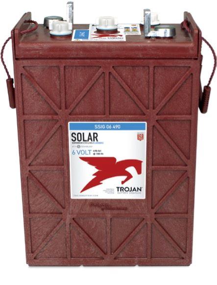 Imagen de Batería TROJAN SSIG 06 475 Deep Cycle Solar