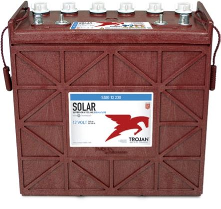 Imagen de Batería TROJAN SSIG 12 230 Deep Cycle Solar