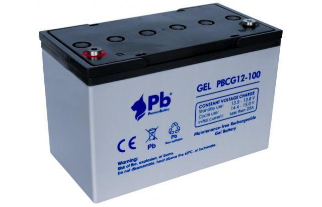 Imagen de Batería Premium Battery PBCG12-100 GEL Cíclica