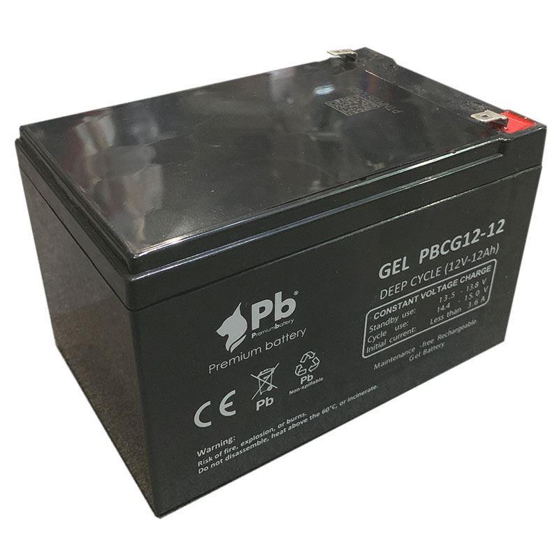 Imagen de Batería Premium Battery PBCG12-12 GEL Cíclica